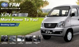 Power Edition Of FAW X-PV launched In Pakistan