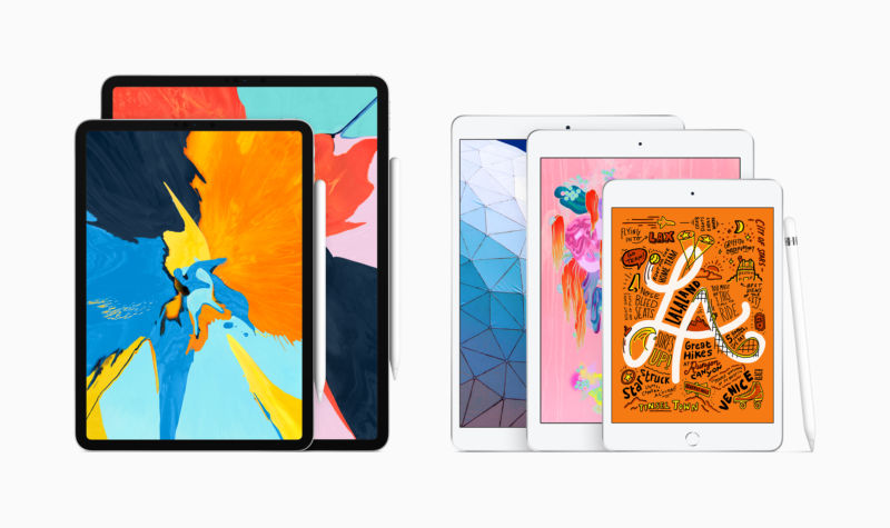 Refreshed iPad Air And Mini Added To iPad Family