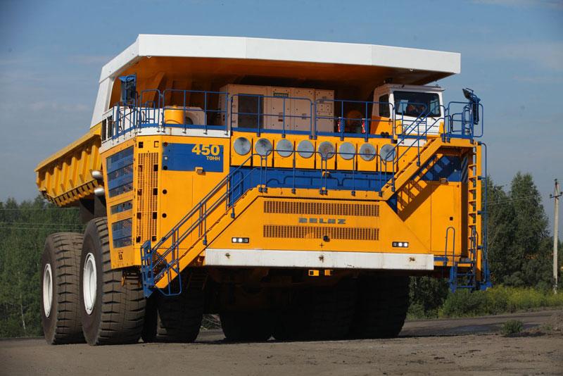 Belaz Dump Truck Launched In Pakistan
