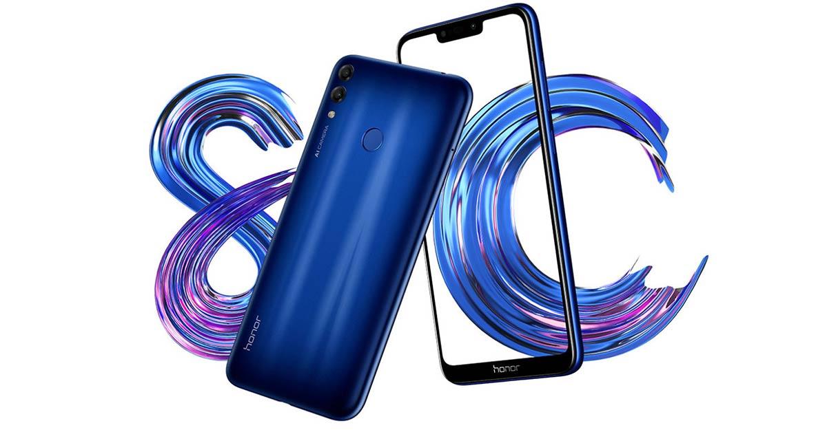 Exploring Midrange Honor 8C Smartphone
