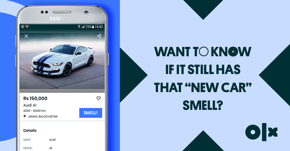 OLX launches 'Smellovision': a ground-breaking new feature