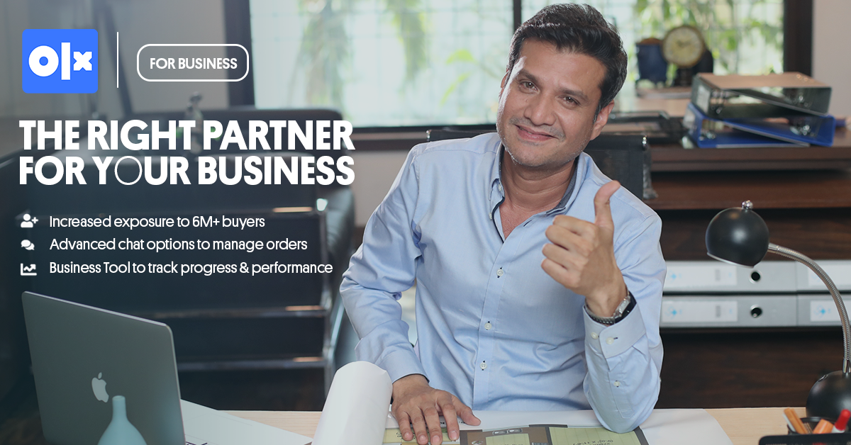 OLX For Businesses -  The Right Partner For Your Business