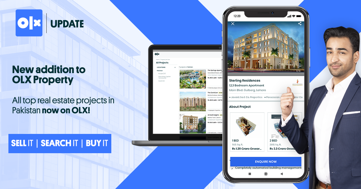 New Real Estate Projects Section is Live on OLX!