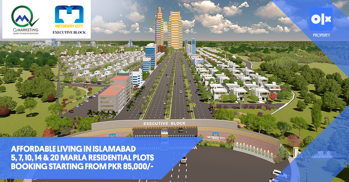 Affordable Living in Islamabad: Motorway City