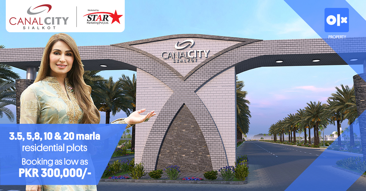 Canal City Sialkot - A New Sialkot