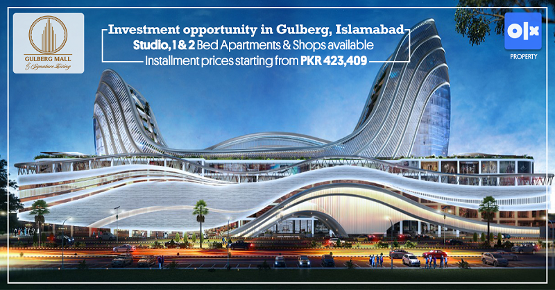 Gulberg Mall & Signature Living: A Luminance of Luxury!