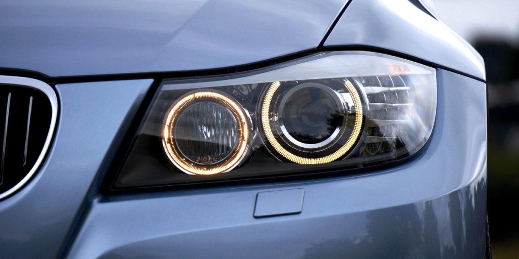 checking car lights