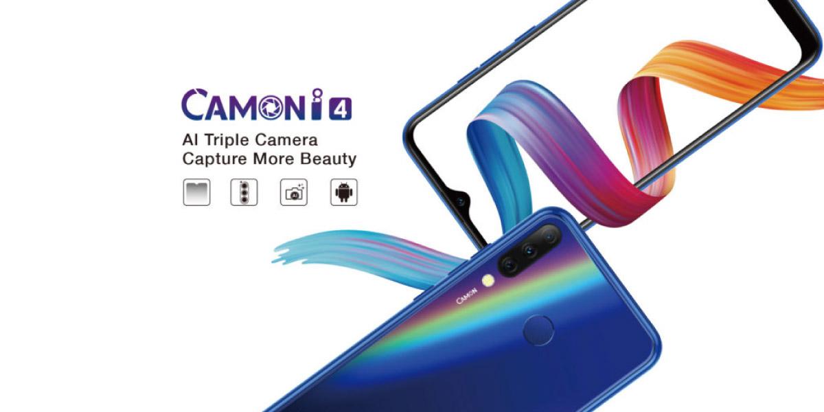 TECNO Launches Camon i4 Smartphone with Triple Camera