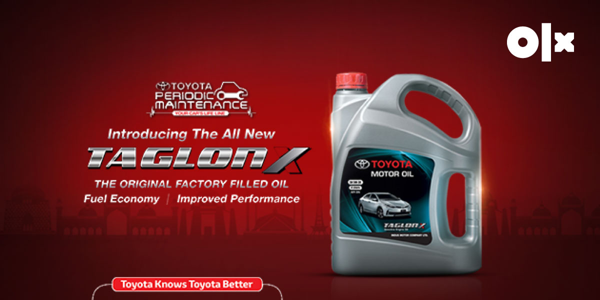 Toyota Taglon X: Engine Oil for Ultimate Performance!