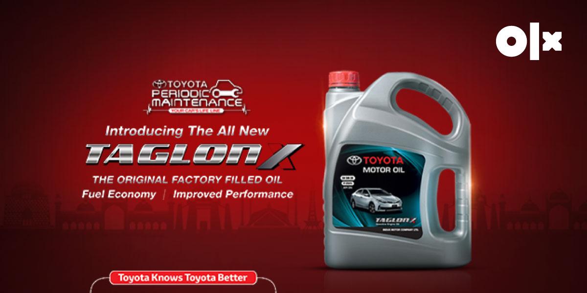 Toyota Taglon X: Engine Oil for Ultimate Performance!