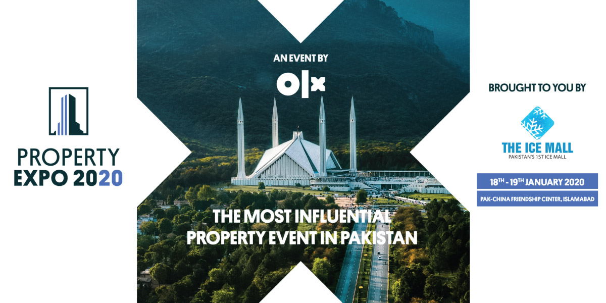 OLX SET TO ORGANIZE PAKISTAN'S MOST INFLUENTIAL PROPERTY EXPO IN 2020