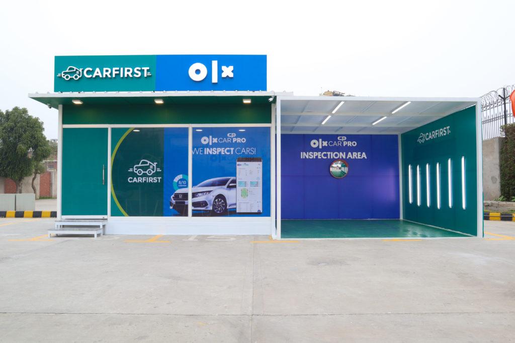 OLX & Car First Facilitation Center Lahore