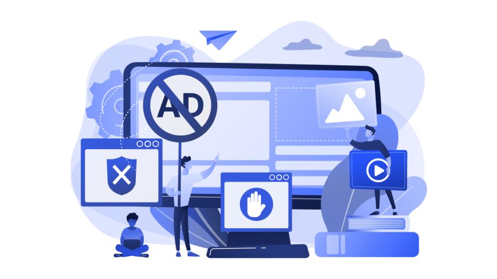 Generic animated image showing digital advertsiing