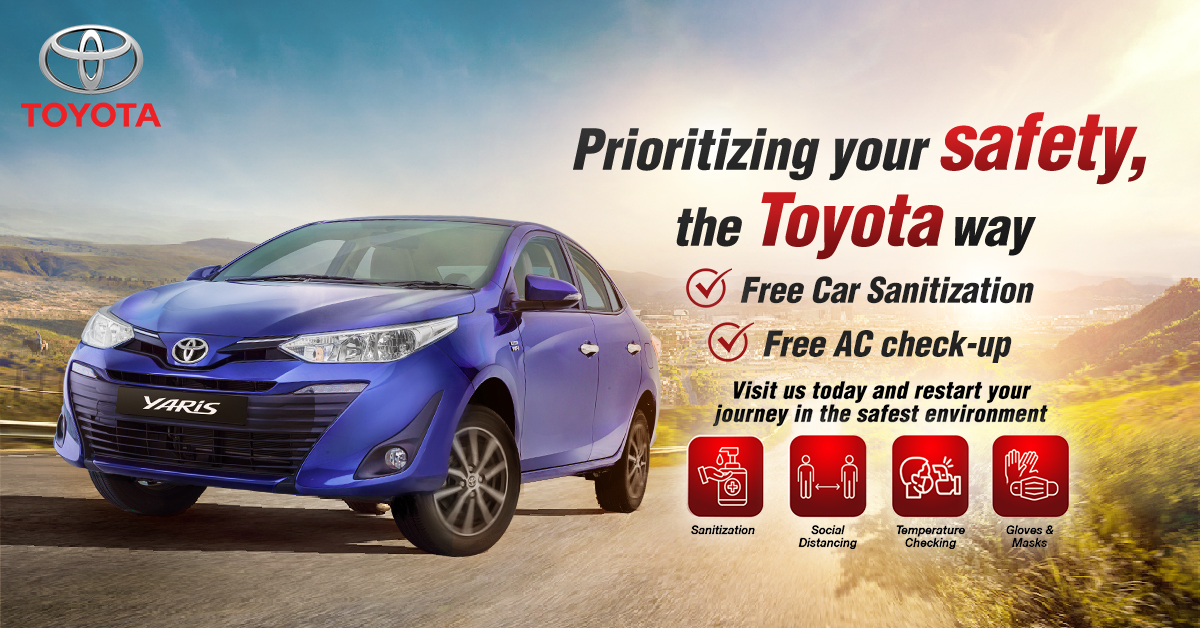 Toyota Truly Cares!