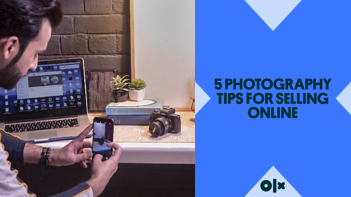 5 Photography Tips for Selling Online