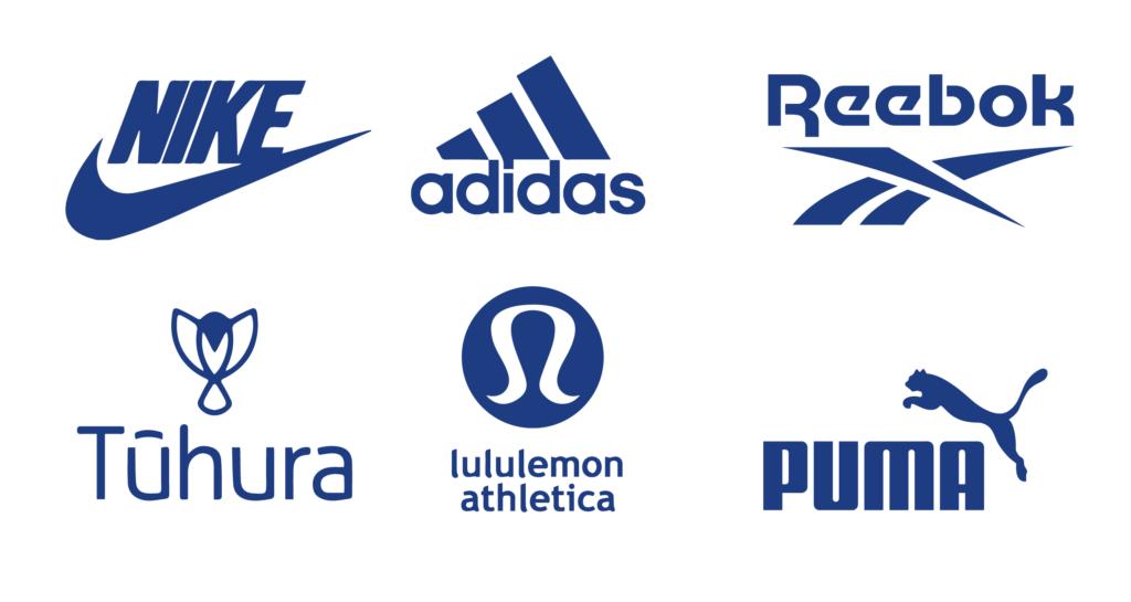 activewear logos