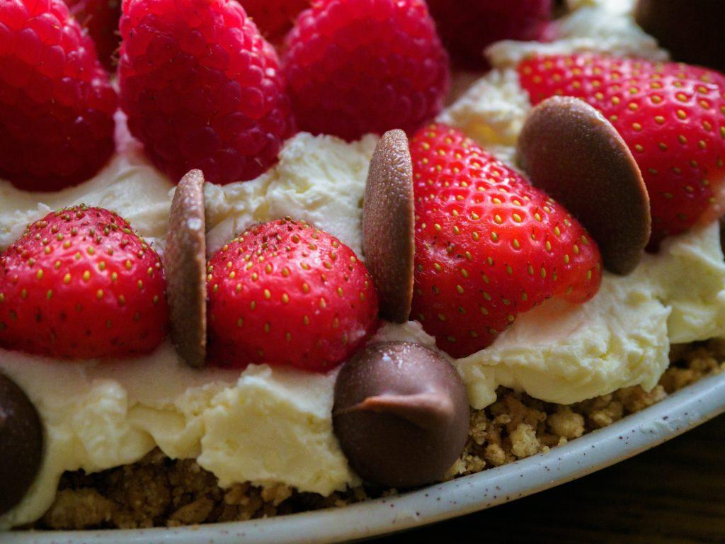 close-up-shot-of-a-strawberry-dessert