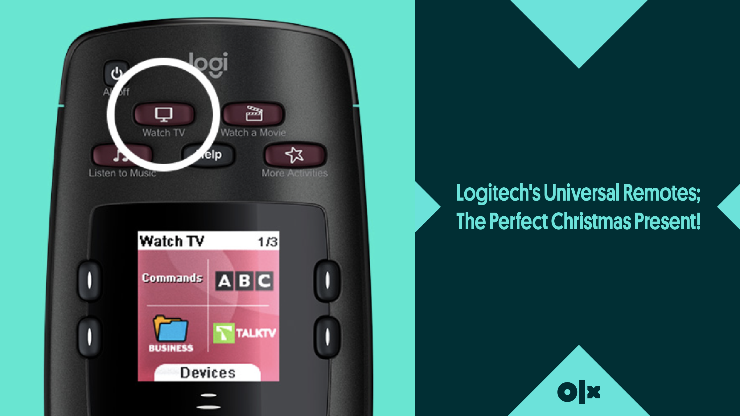 Logitech's Universal Remotes; The Perfect Christmas Present!
