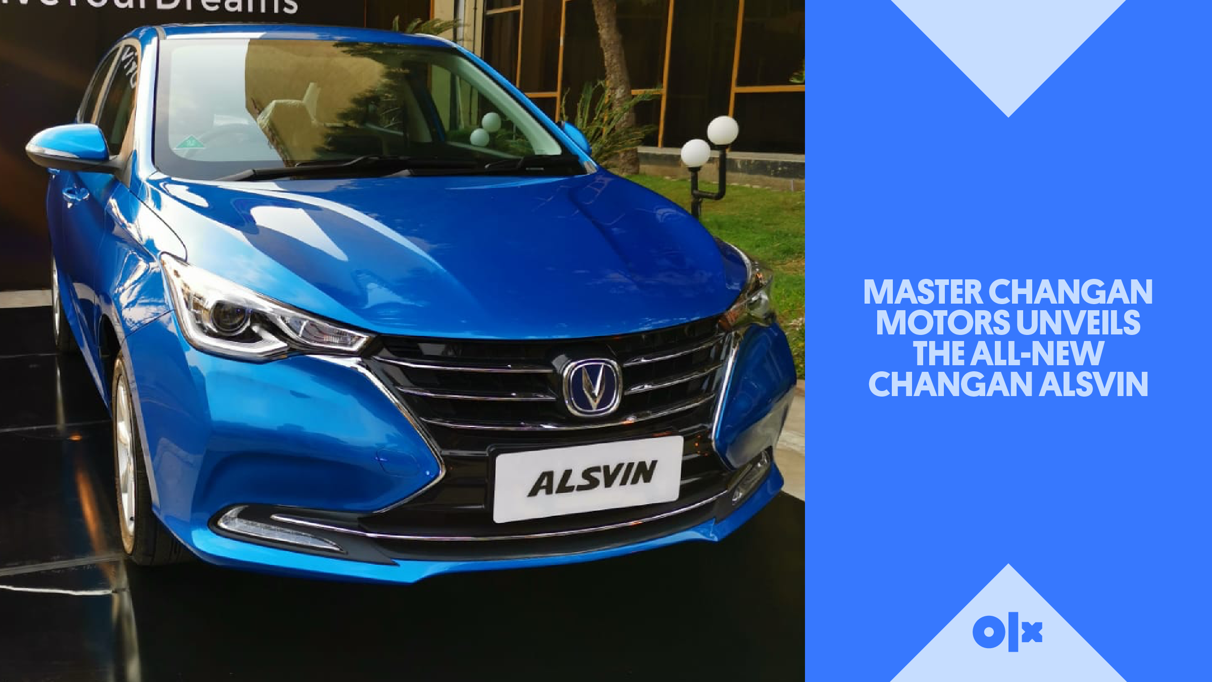 Master Changan Motors Unveils The All-New Changan Alsvin – Pakistan's 1st Euro-5 Smart Sedan