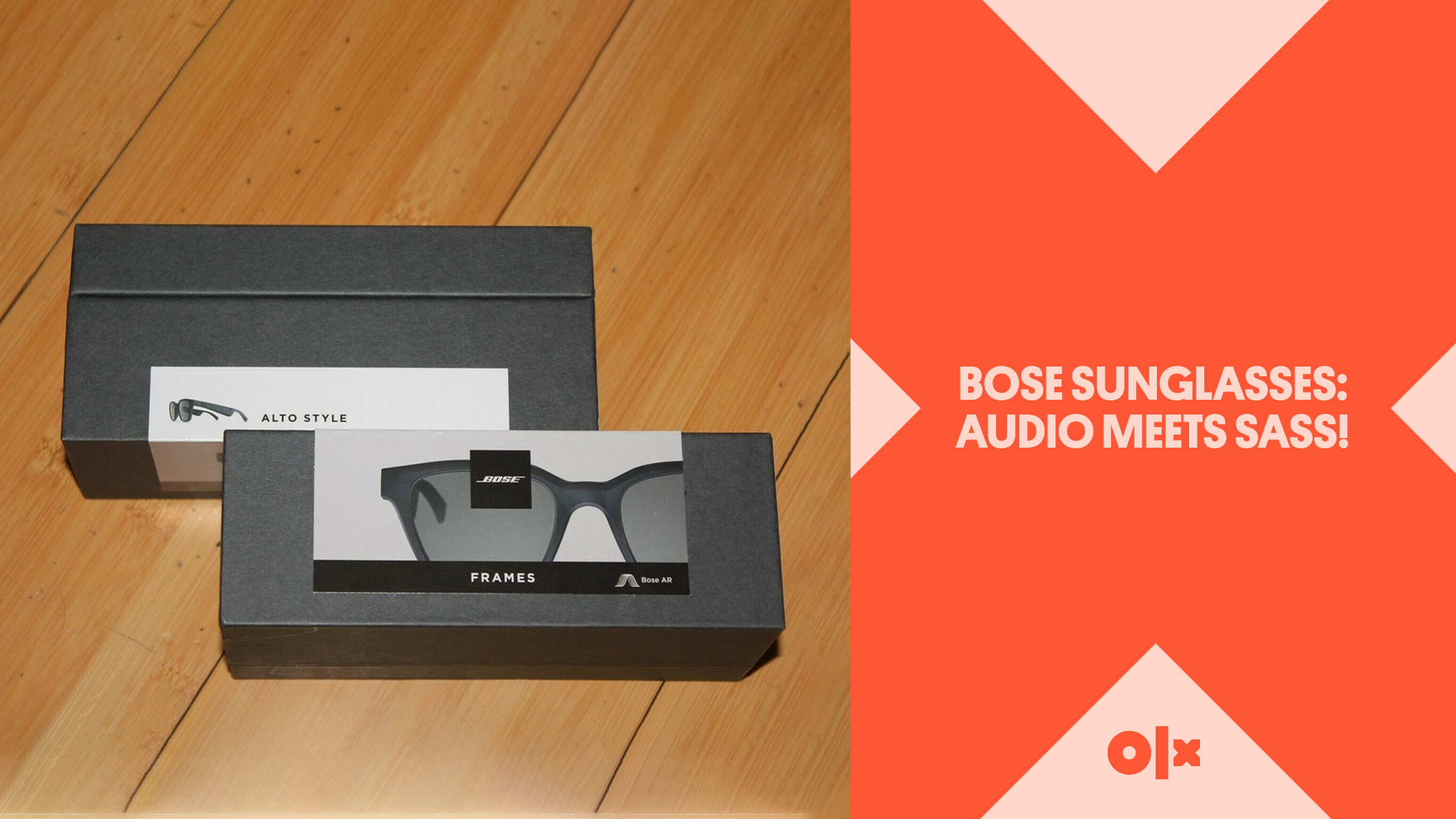 Bose Sunglasses: Audio Meets Sass!