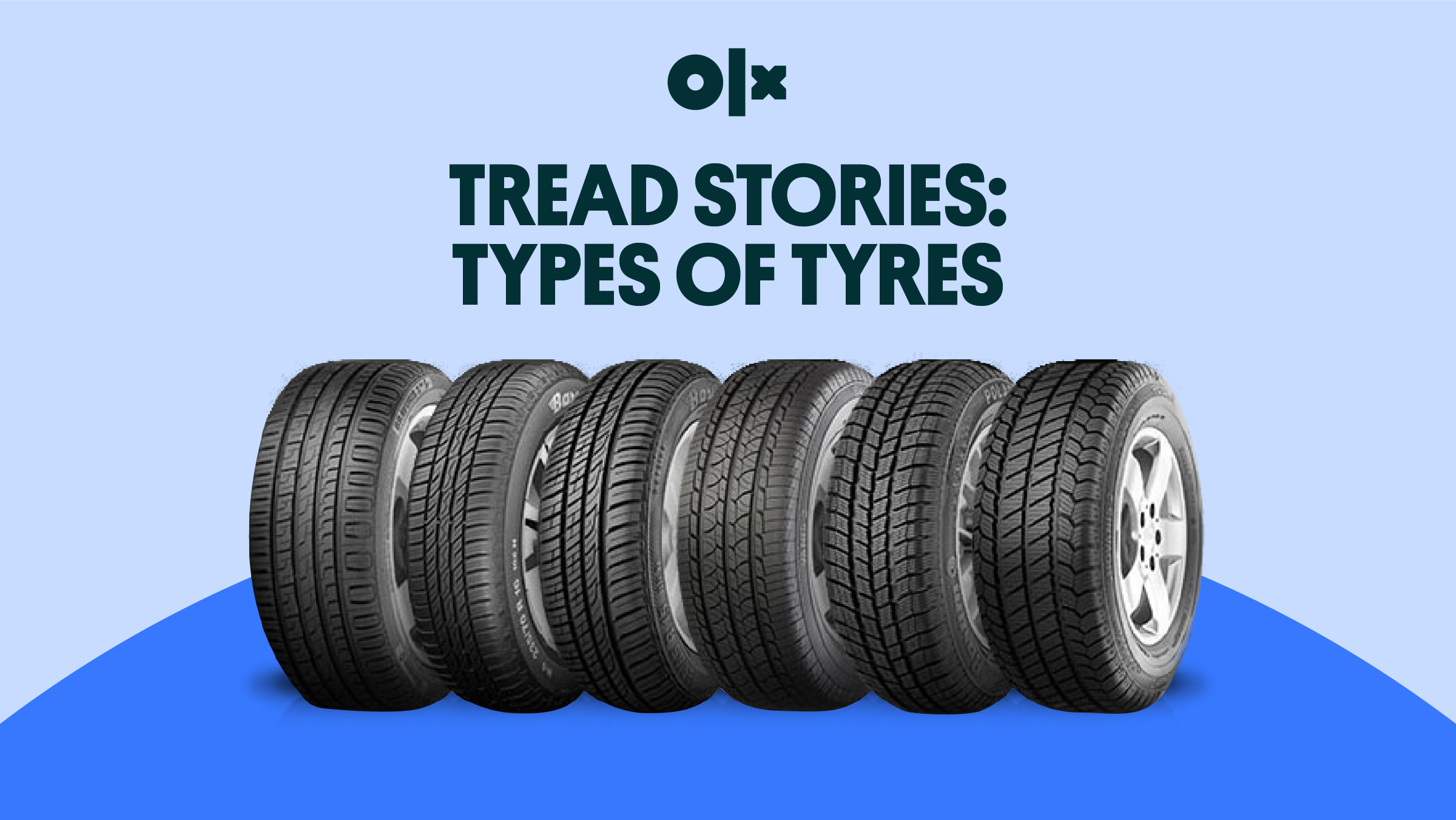 Tread Stories: Types of Tyres