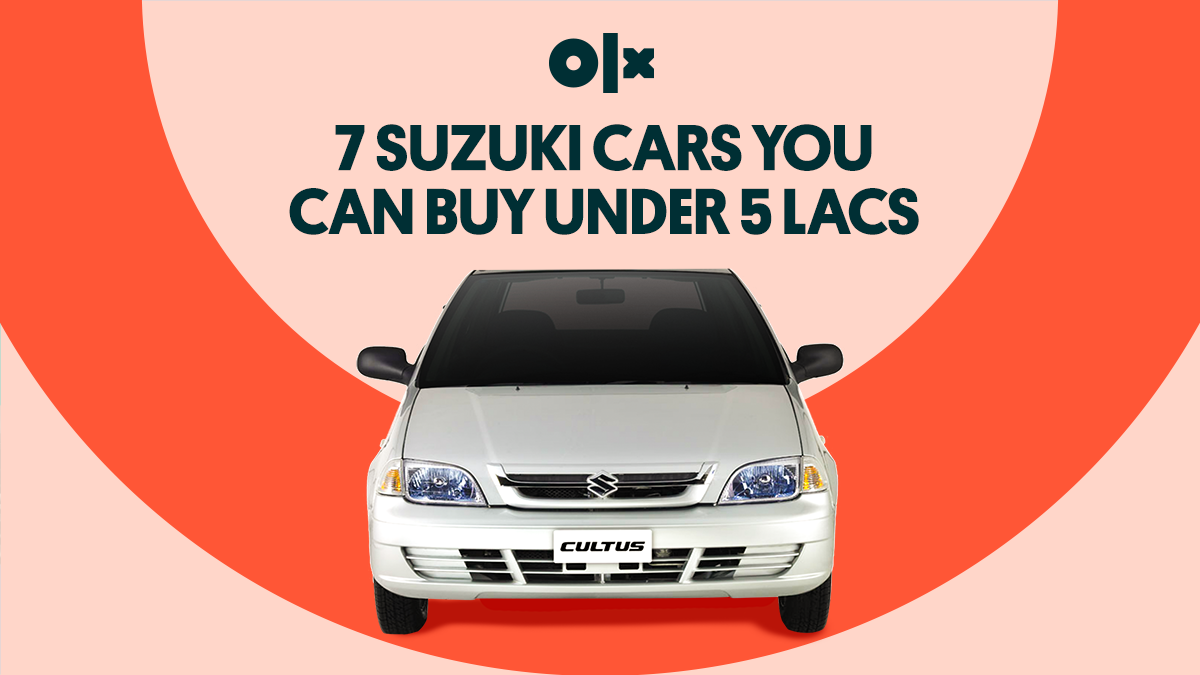 Top Suzuki Cars That You Can Buy Under Half a Million