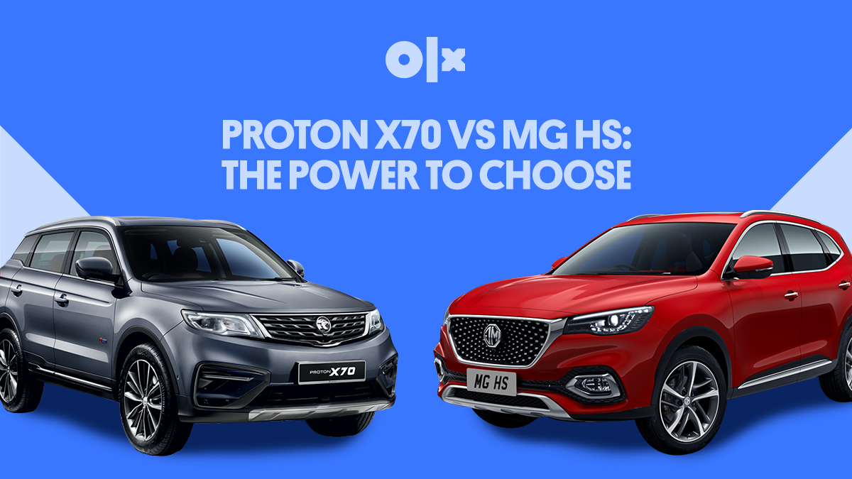 Proton X70 vs MG HS: The Power to Choose