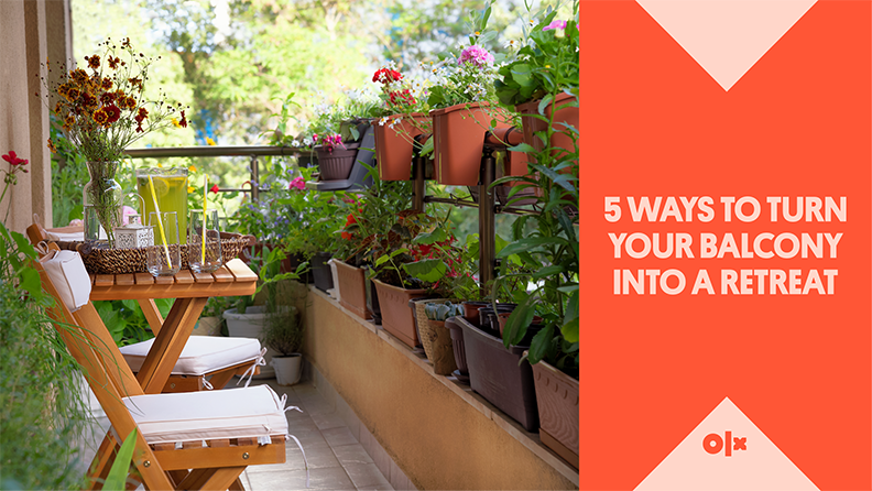 5 Ways To Turn Your Balcony Into A Retreat