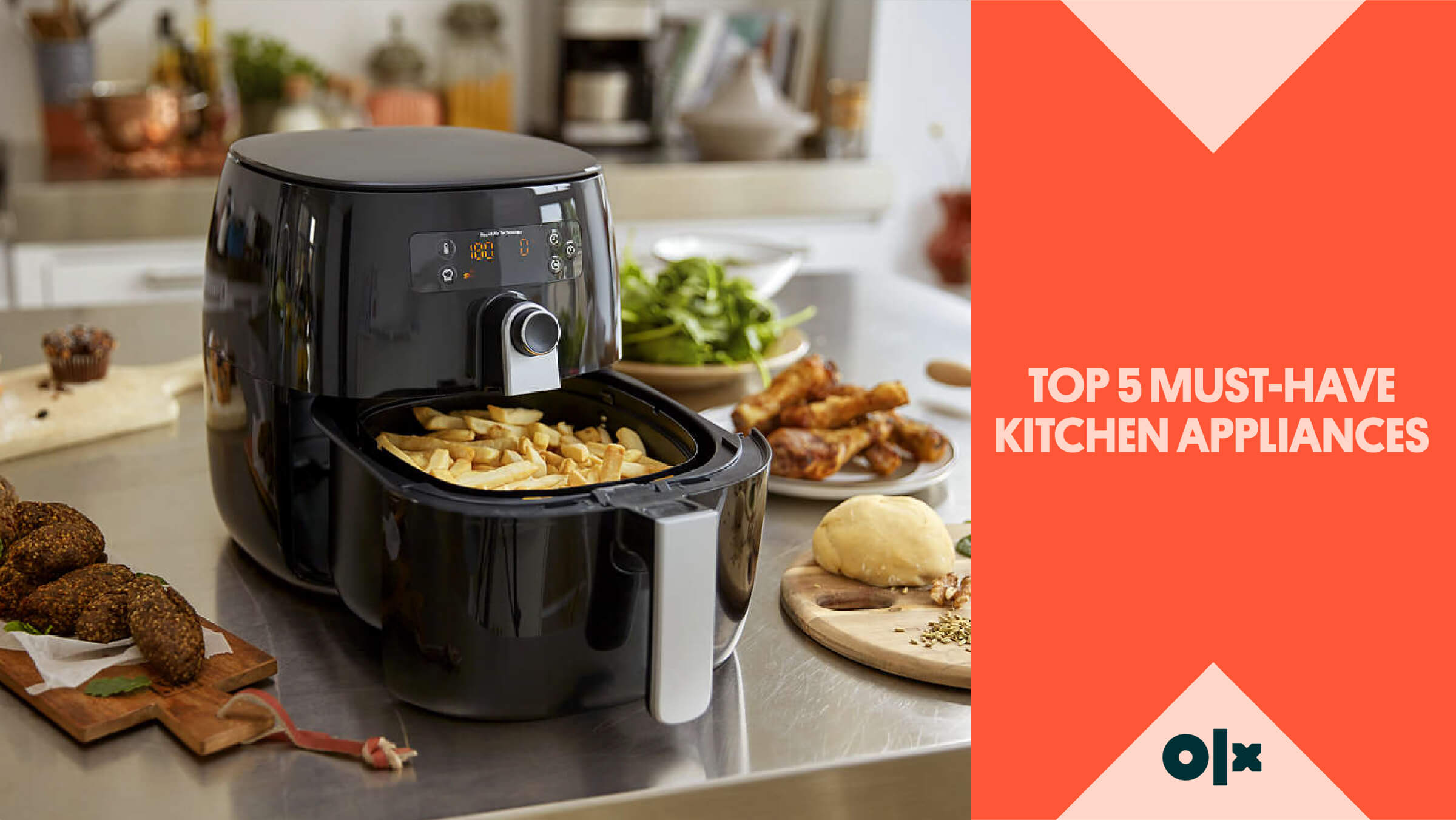 Top 5 Must-Have Kitchen Appliances