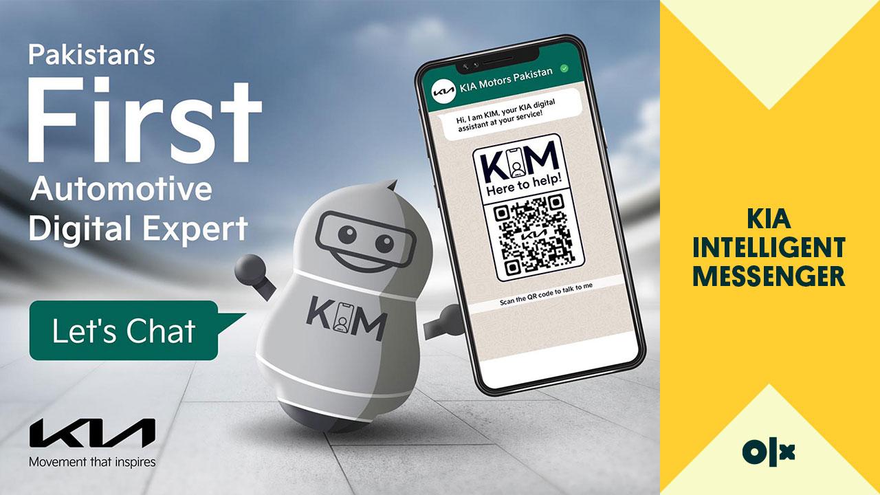 KIM - Pakistan's First Automotive Digital Expert