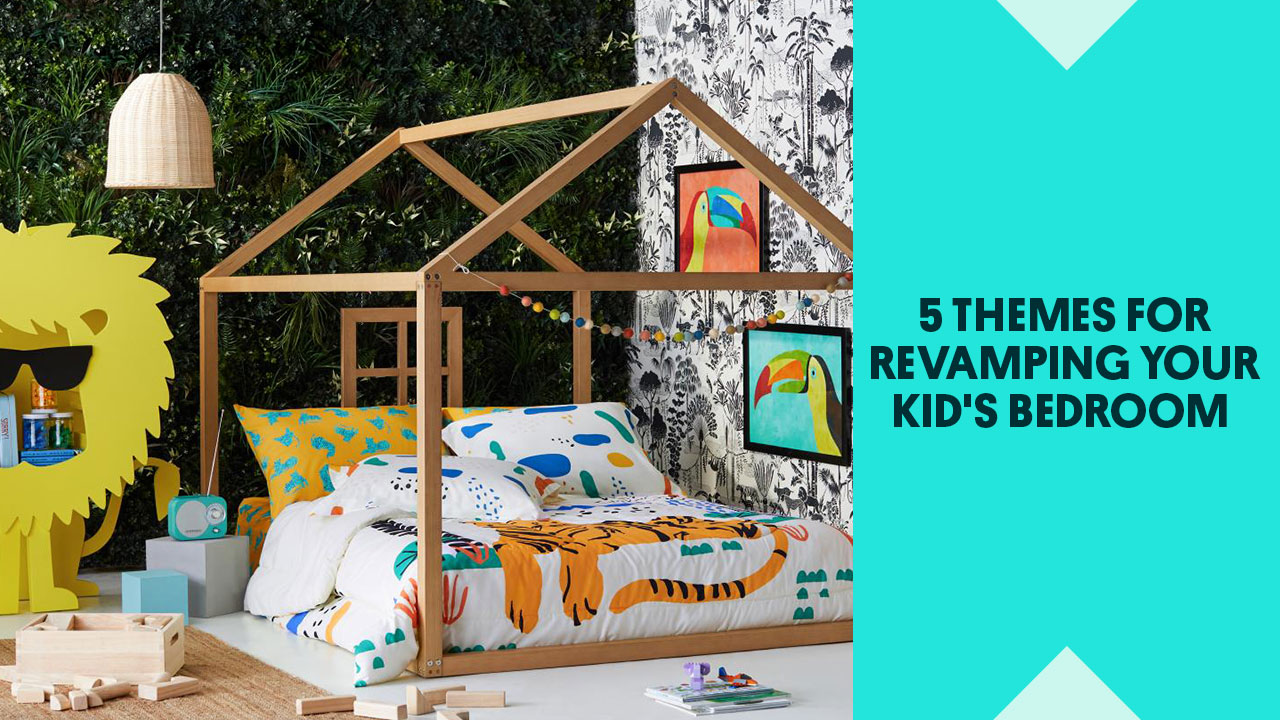 Top Themes For Revamping Your Kid's Bedroom