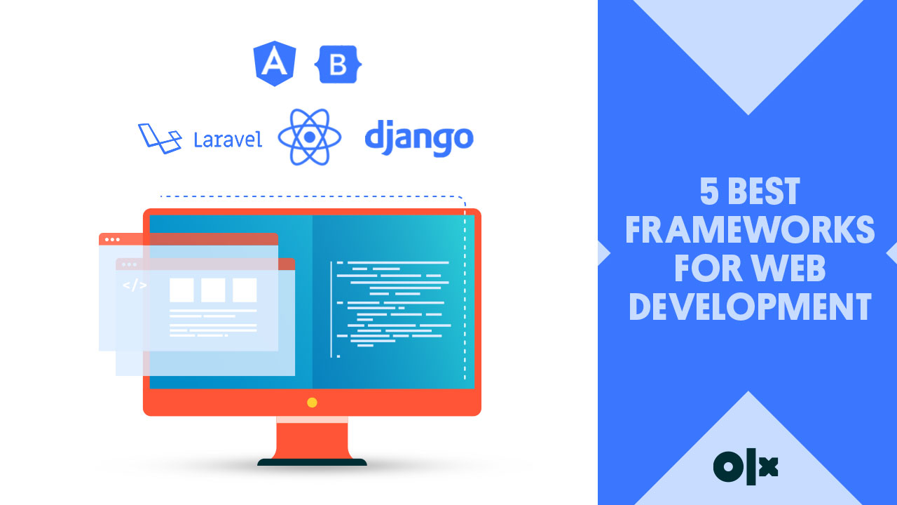 5 Best Frameworks For Web Development