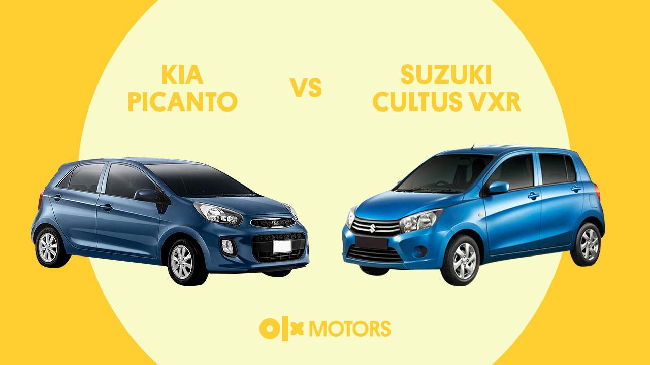 Kia Picanto VS Suzuki Cultus VXR