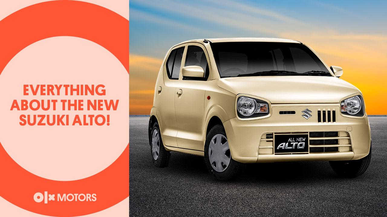 Everything About The New Suzuki Alto!