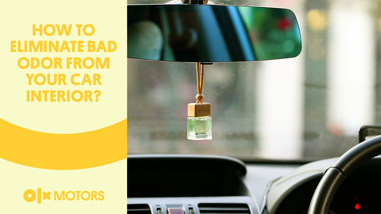 How To Eliminate Bad Odor From Your Car Interior?