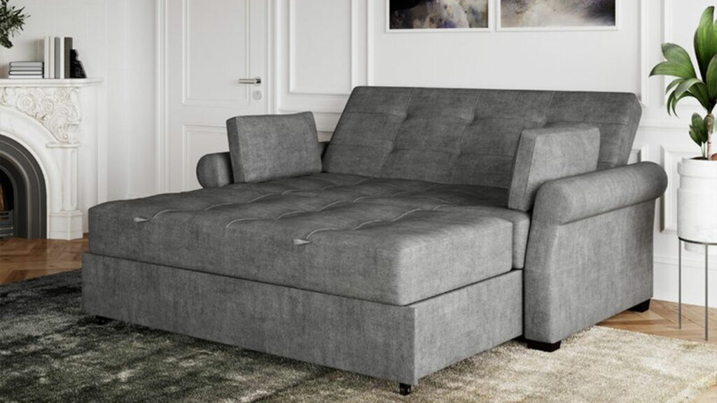Cozy up for an afternoon nap or use it as an instant guest room, the versatile sofa cum bed will never disappoint you.