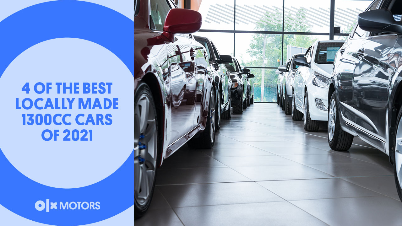 4 Of The Best Locally Made 1300cc Cars of 2021