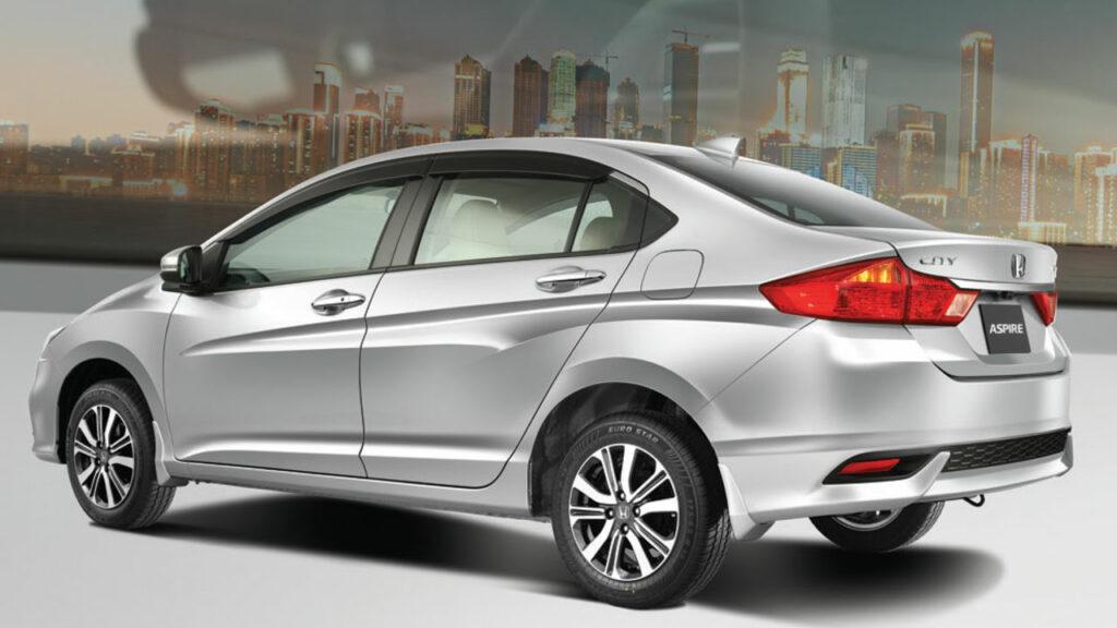 Honda City 2021 side profile
