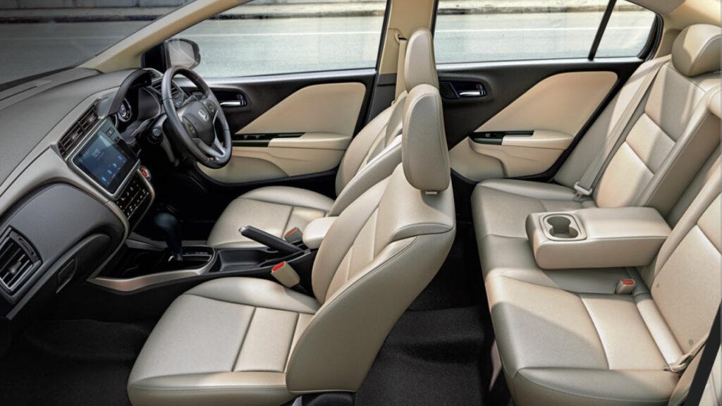 Honda City 2021 interior
