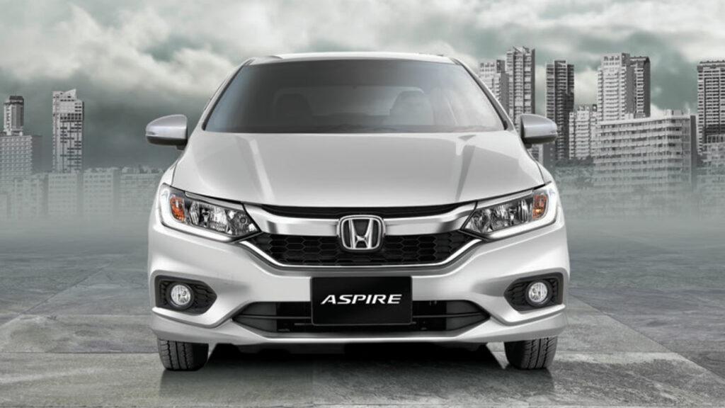 Honda City 2021 front profile