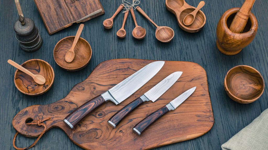 Knife set for Eid