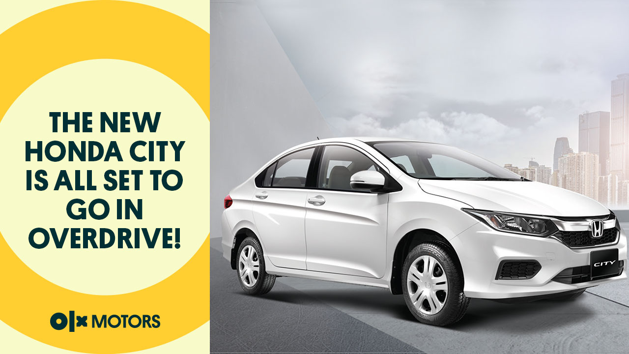 The New Honda City is All Set to Go in Overdrive!