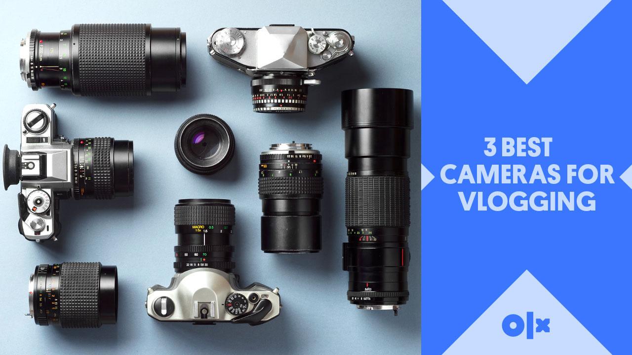 3 Best Cameras for Vlogging