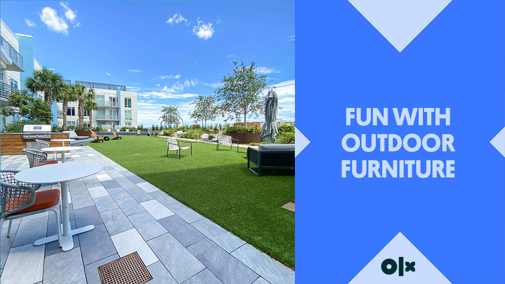 Fun with Outdoor Furniture