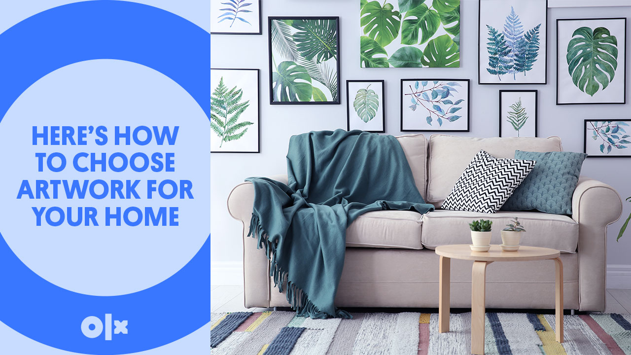 Here's How To Choose Artwork For Your Home