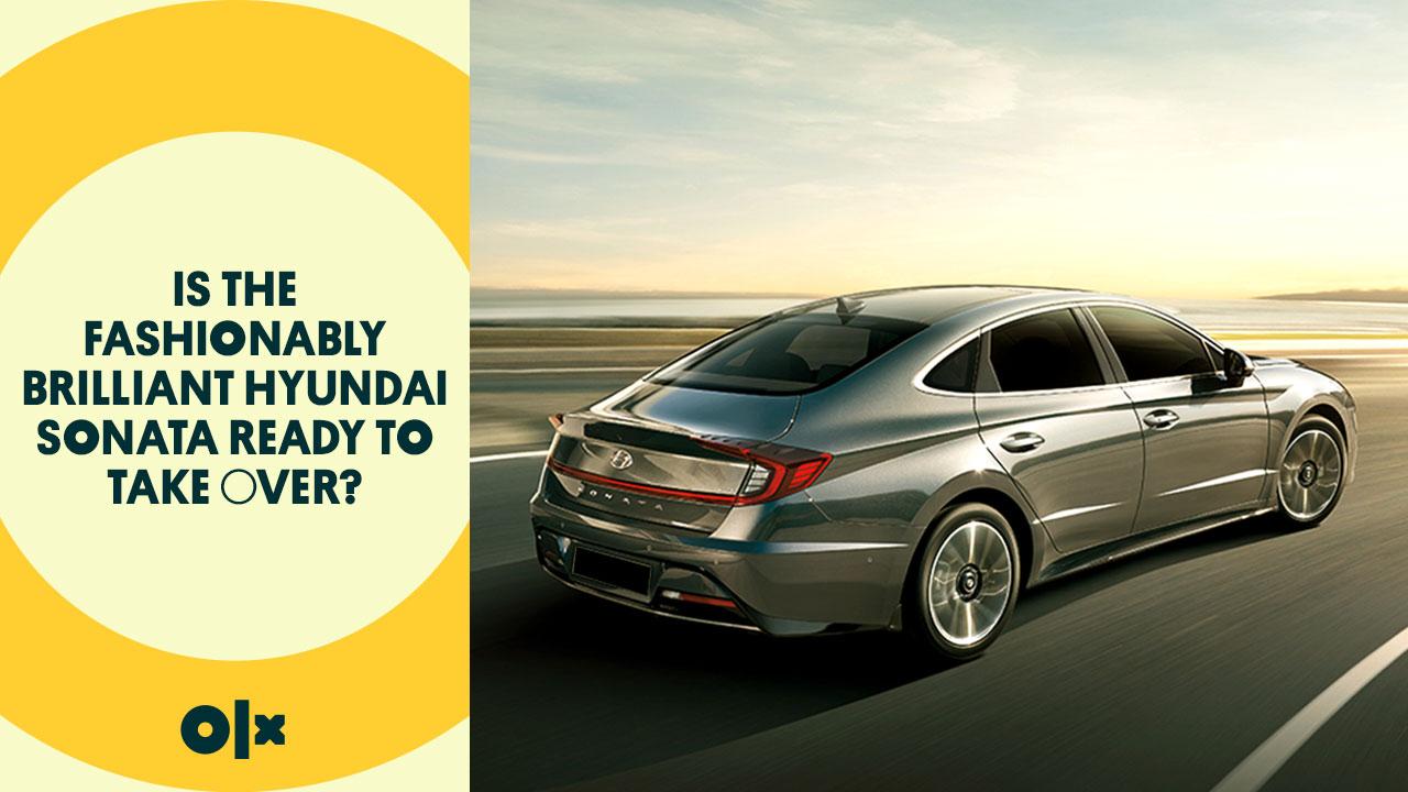 Is the Fashionably Brilliant Hyundai Sonata Ready to Take Over?
