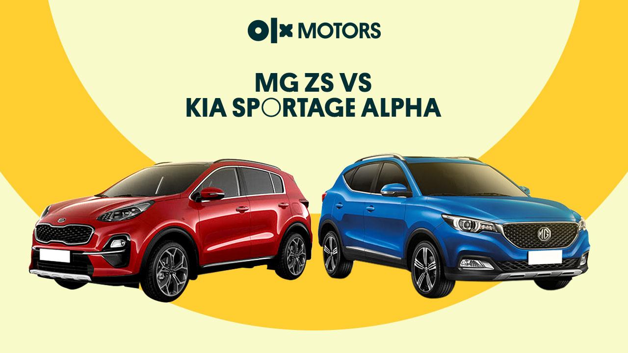 MG ZS vs. Kia Sportage Alpha