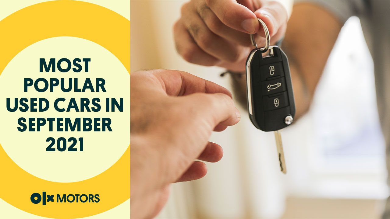 Most Popular Used Cars in September 2021